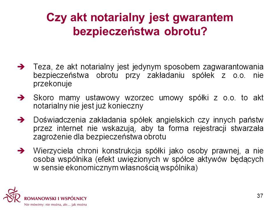Czy akt notarialny jest gwarantem bezpieczeństwa obrotu