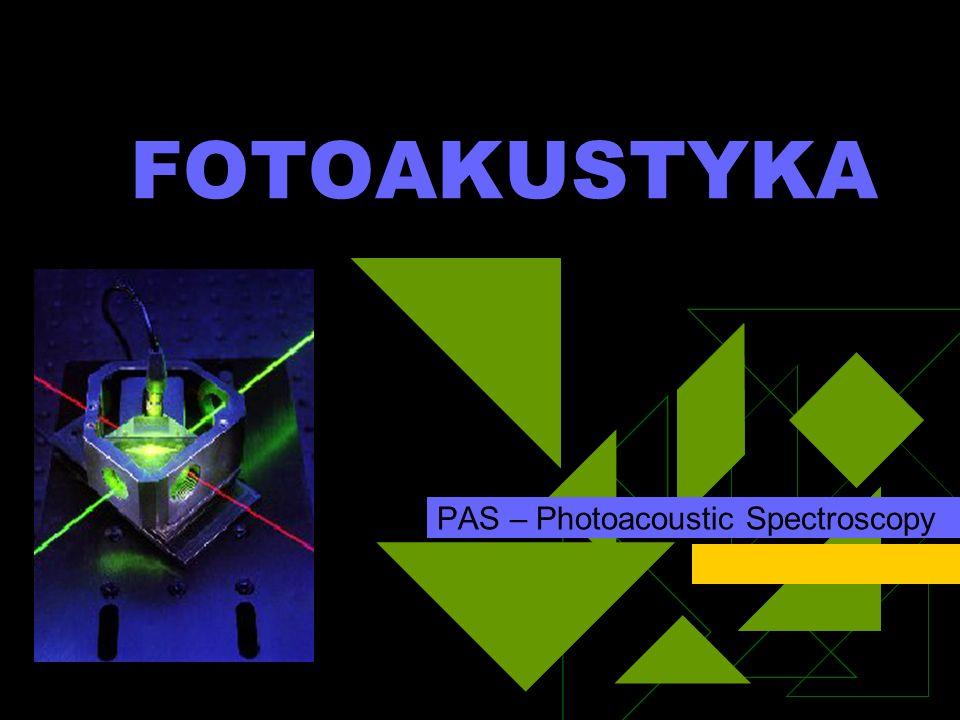 PAS – Photoacoustic Spectroscopy