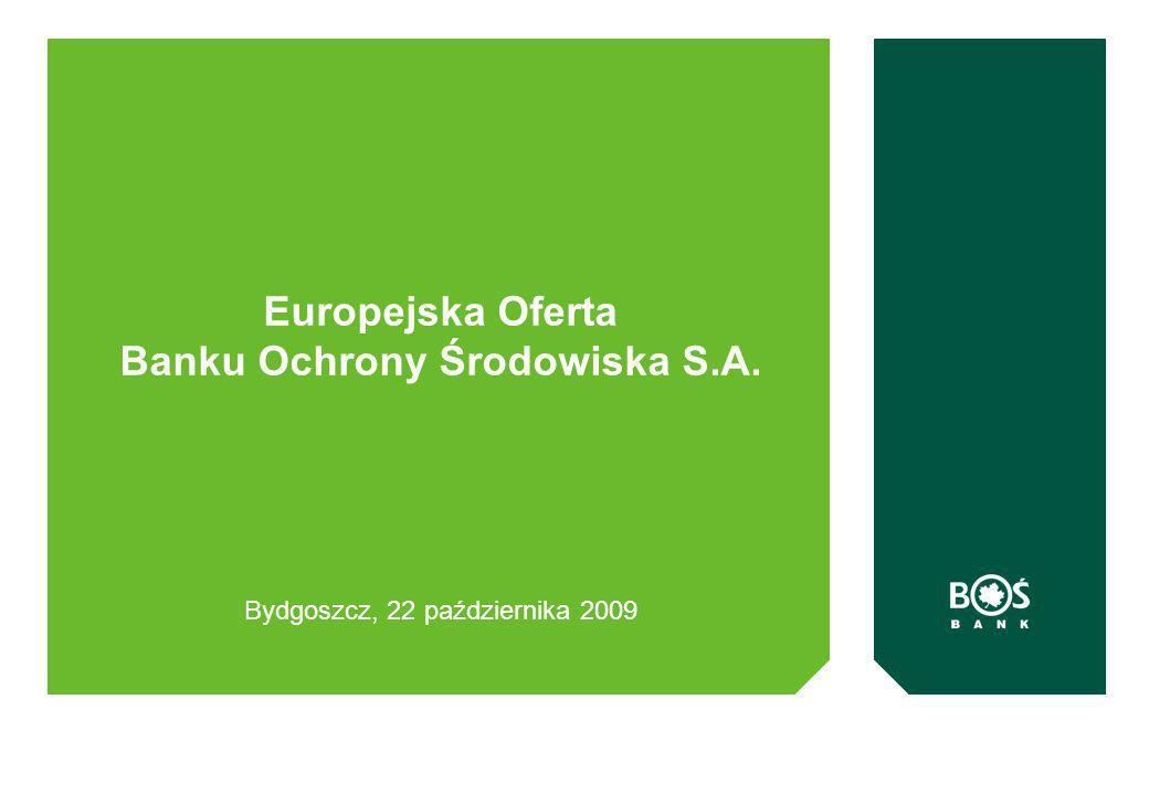 Europejska Oferta Banku Ochrony Środowiska S.A.