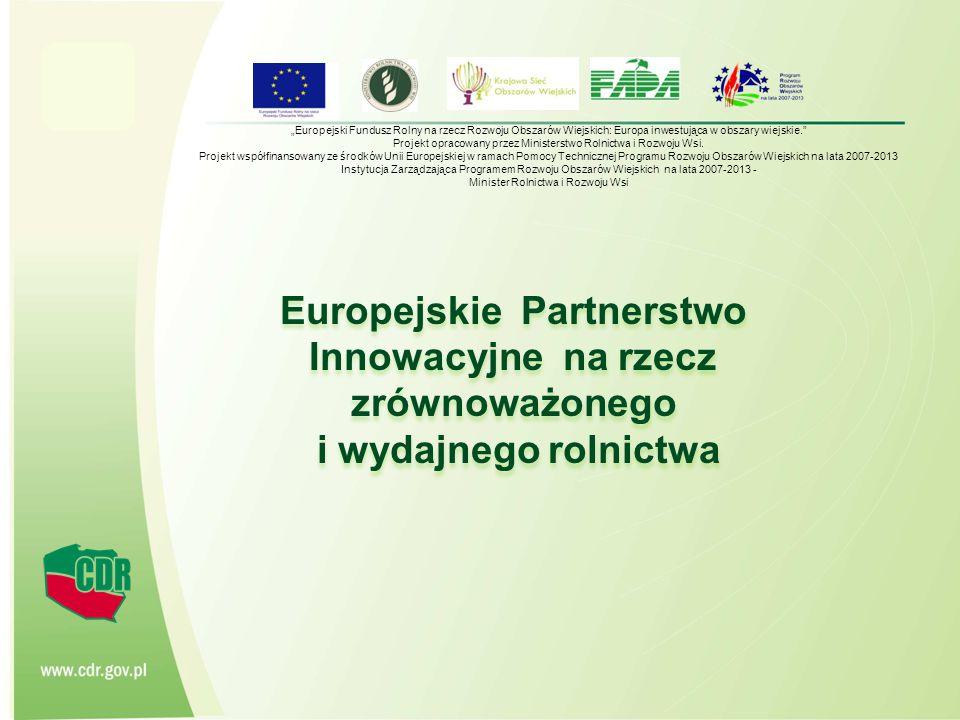 Projekt opracowany przez Ministerstwo Rolnictwa i Rozwoju Wsi.