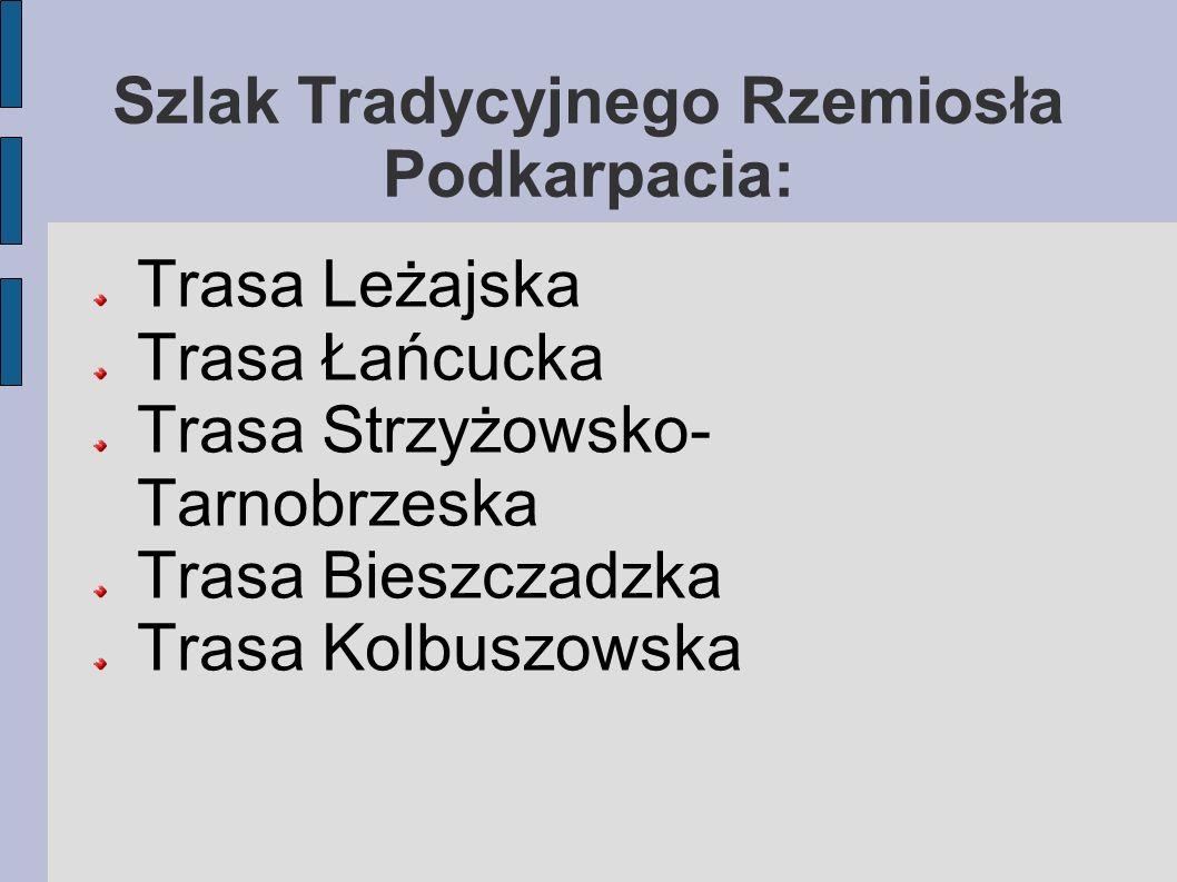 Szlak Tradycyjnego Rzemiosła Podkarpacia: