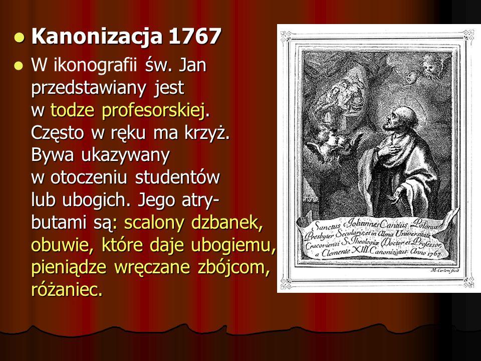 Kanonizacja 1767