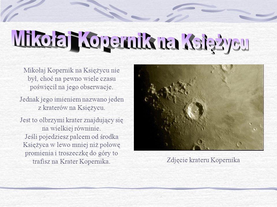 Mikołaj Kopernik na Księżycu