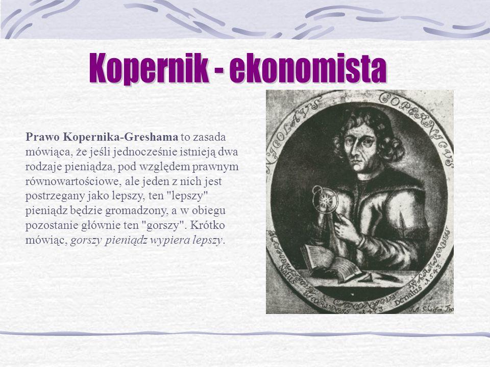 Kopernik - ekonomista