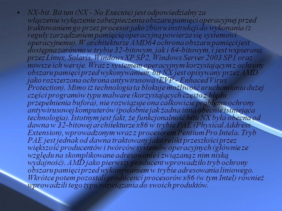 NX-bit.