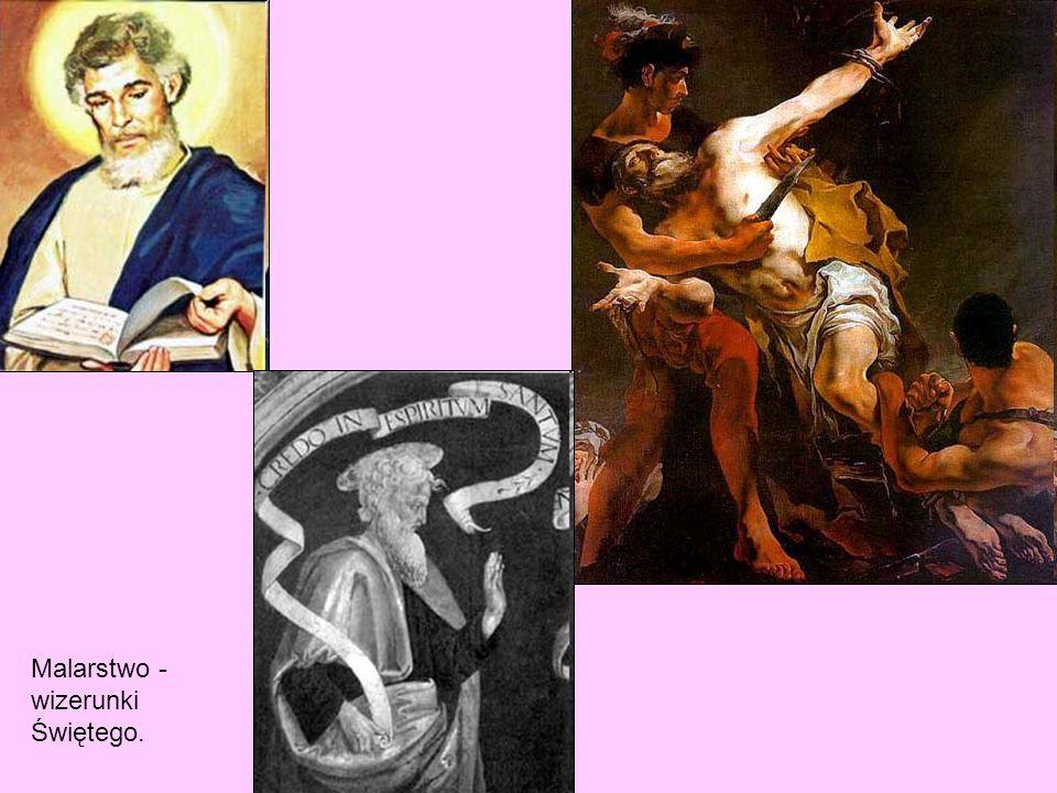 Malarstwo - wizerunki Świętego.