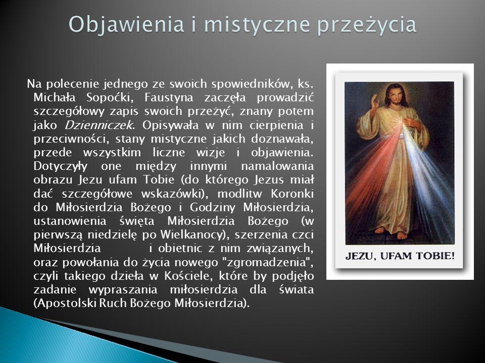 Objawienia i mistyczne przeżycia