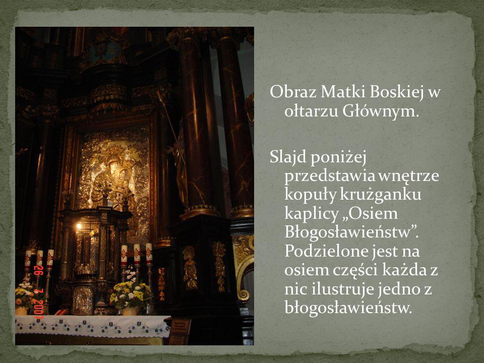 Obraz Matki Boskiej w ołtarzu Głównym
