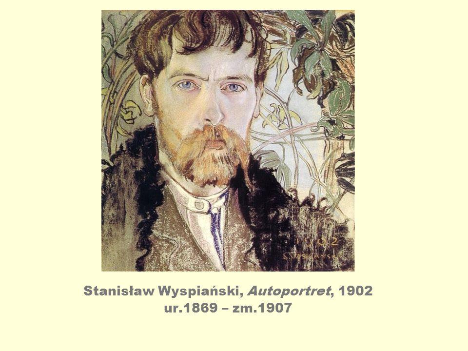 Stanisław Wyspiański, Autoportret, 1902 ur.1869 – zm.1907