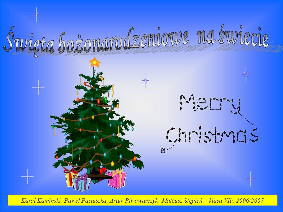 Święta bożonarodzeniowe na świecie