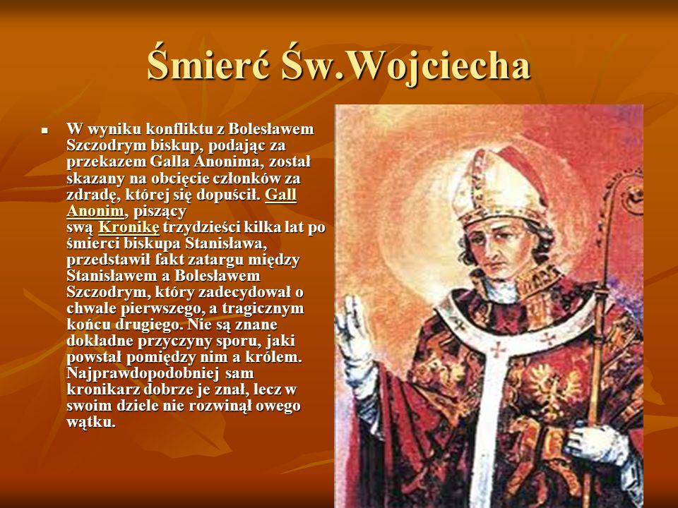 Śmierć Św.Wojciecha