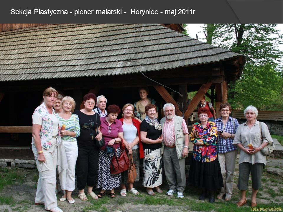 Sekcja Plastyczna - plener malarski - Horyniec - maj 2011r