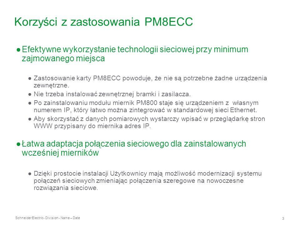 Korzyści z zastosowania PM8ECC