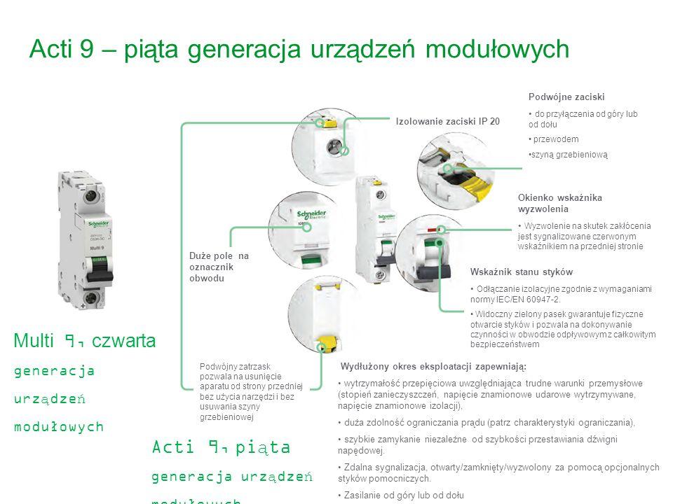 Acti 9 – piąta generacja urządzeń modułowych