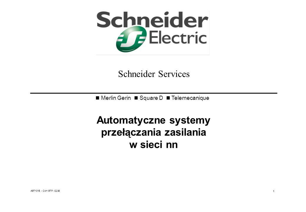 Automatyczne systemy przełączania zasilania w sieci nn