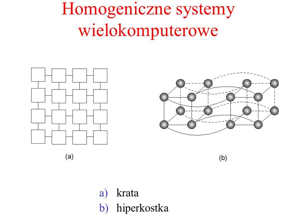 Homogeniczne systemy wielokomputerowe