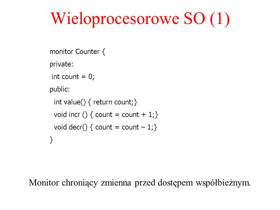 Wieloprocesorowe SO (1)