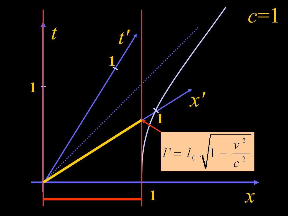 c=1 t t 1 1 x 1 x 1