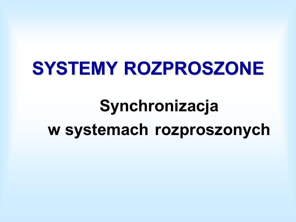 Synchronizacja w systemach rozproszonych
