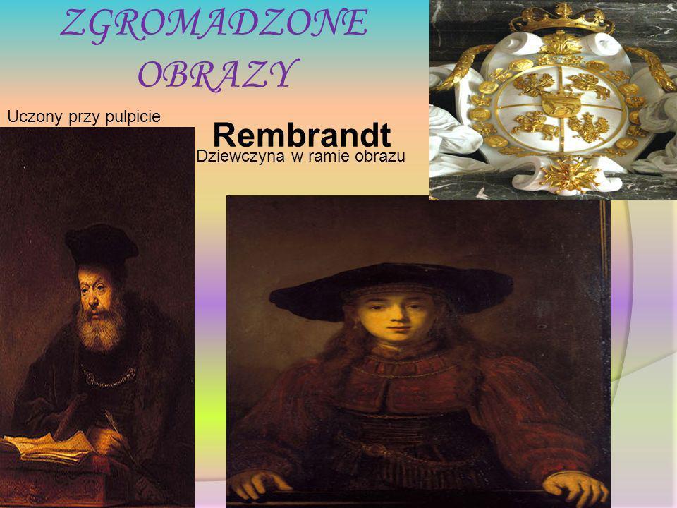 ZGROMADZONE OBRAZY Rembrandt Uczony przy pulpicie