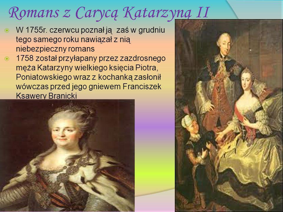 Romans z Carycą Katarzyną II