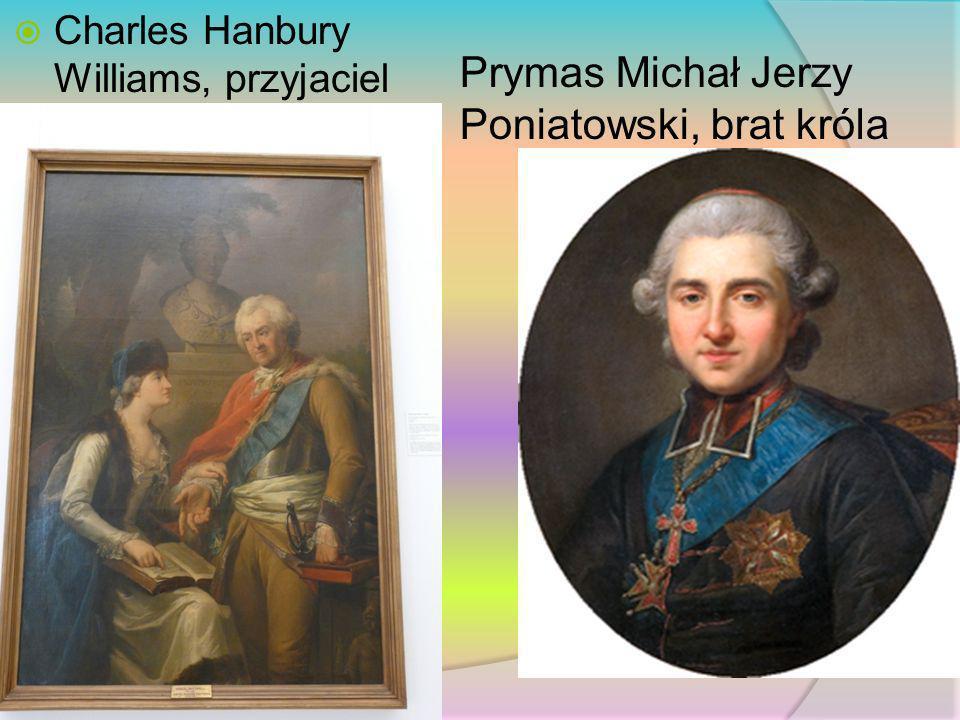 Prymas Michał Jerzy Poniatowski, brat króla