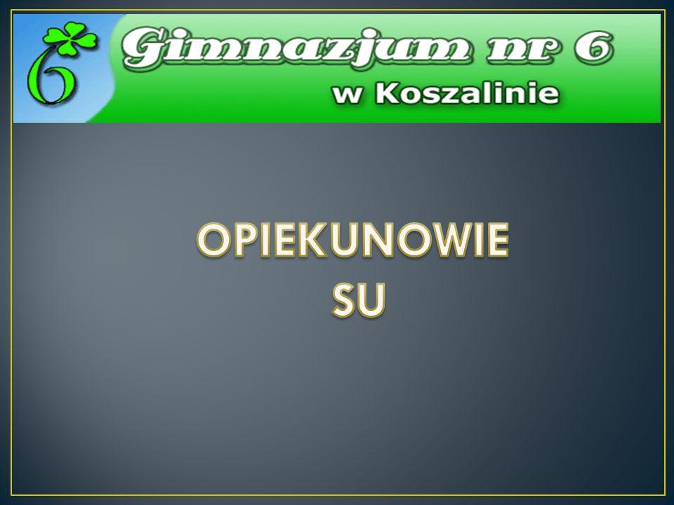 OPIEKUNOWIE SU