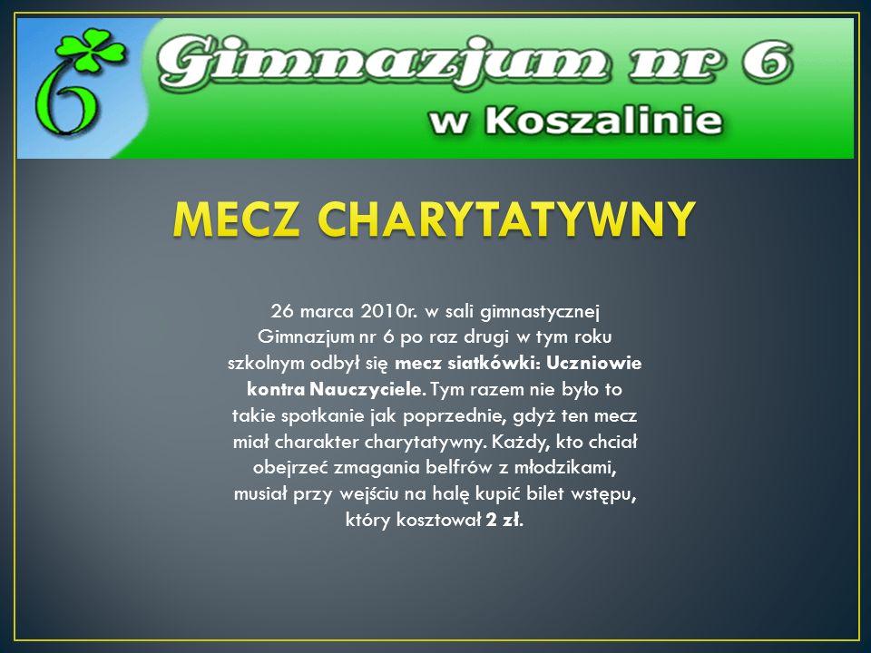 MECZ CHARYTATYWNY