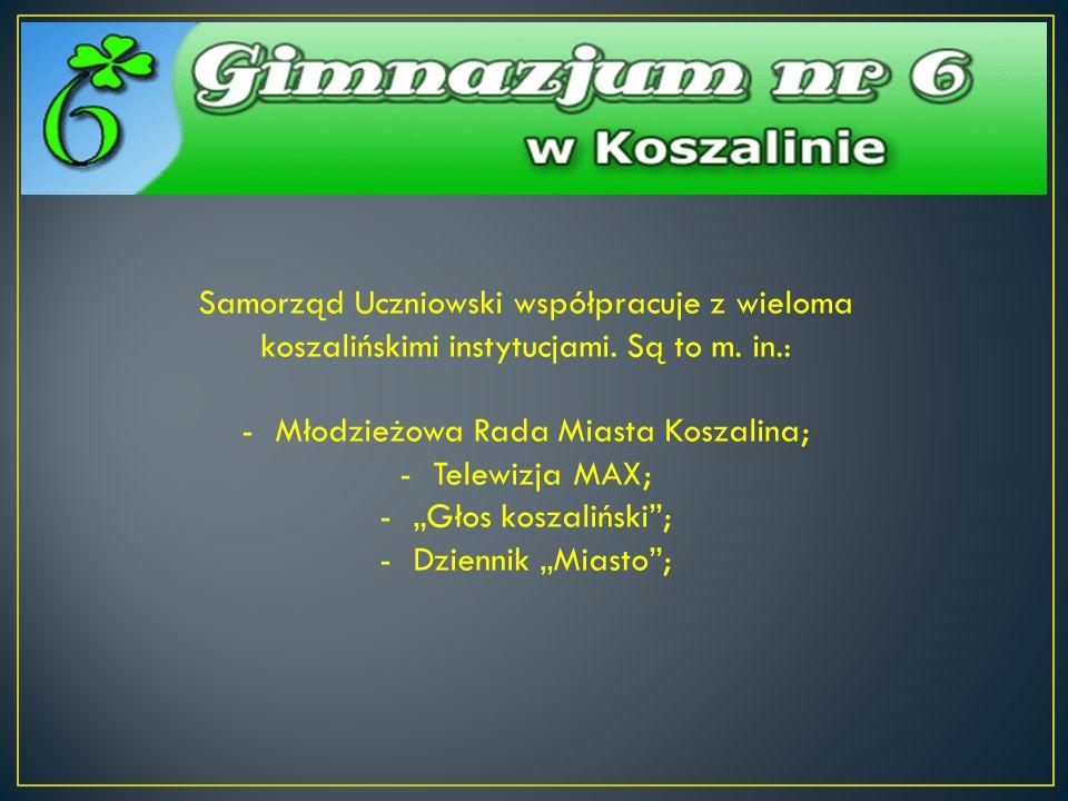 Młodzieżowa Rada Miasta Koszalina;