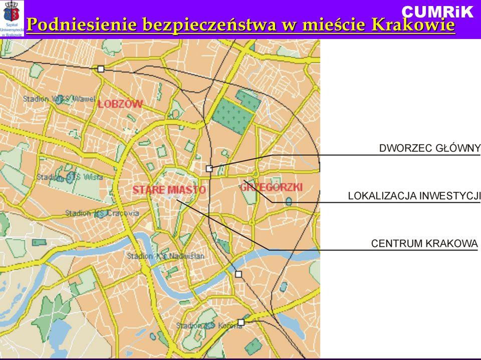 Podniesienie bezpieczeństwa w mieście Krakowie