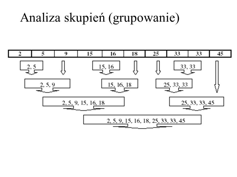 Analiza skupień (grupowanie)