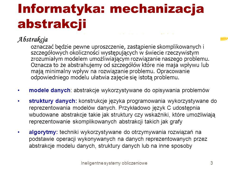 Informatyka: mechanizacja abstrakcji
