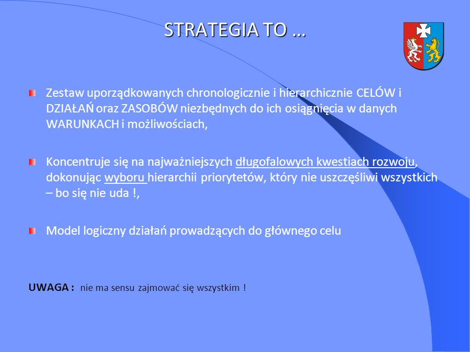 STRATEGIA TO …