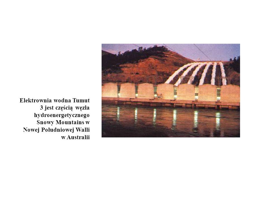 Elektrownia wodna Tumut 3 jest częścią węzła hydroenergetycznego Snowy Mountains w Nowej Południowej Walli w Australii
