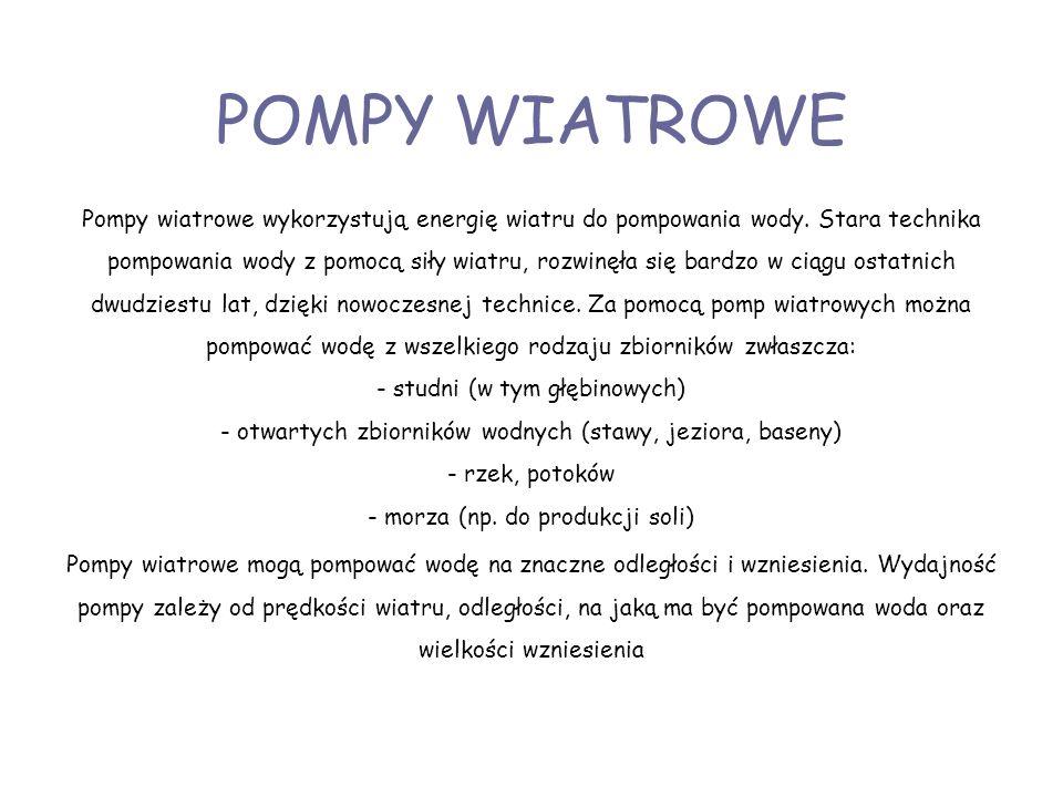 POMPY WIATROWE