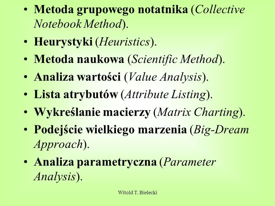 Metoda grupowego notatnika (Collective Notebook Method).