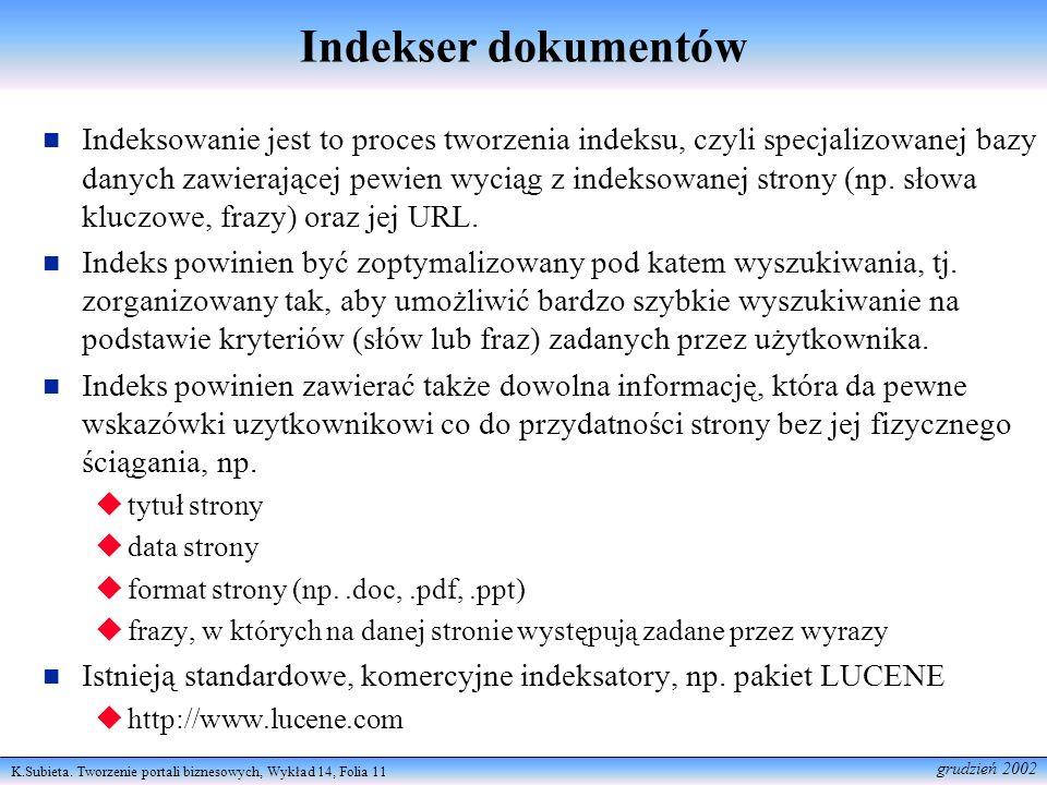 Indekser dokumentów