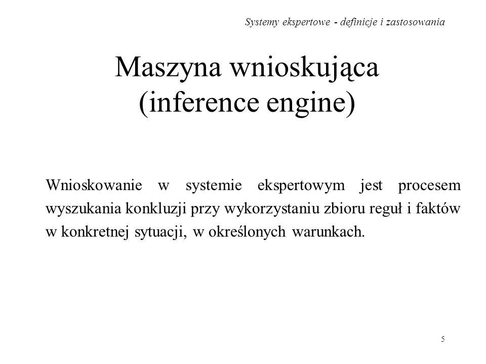 Maszyna wnioskująca (inference engine)