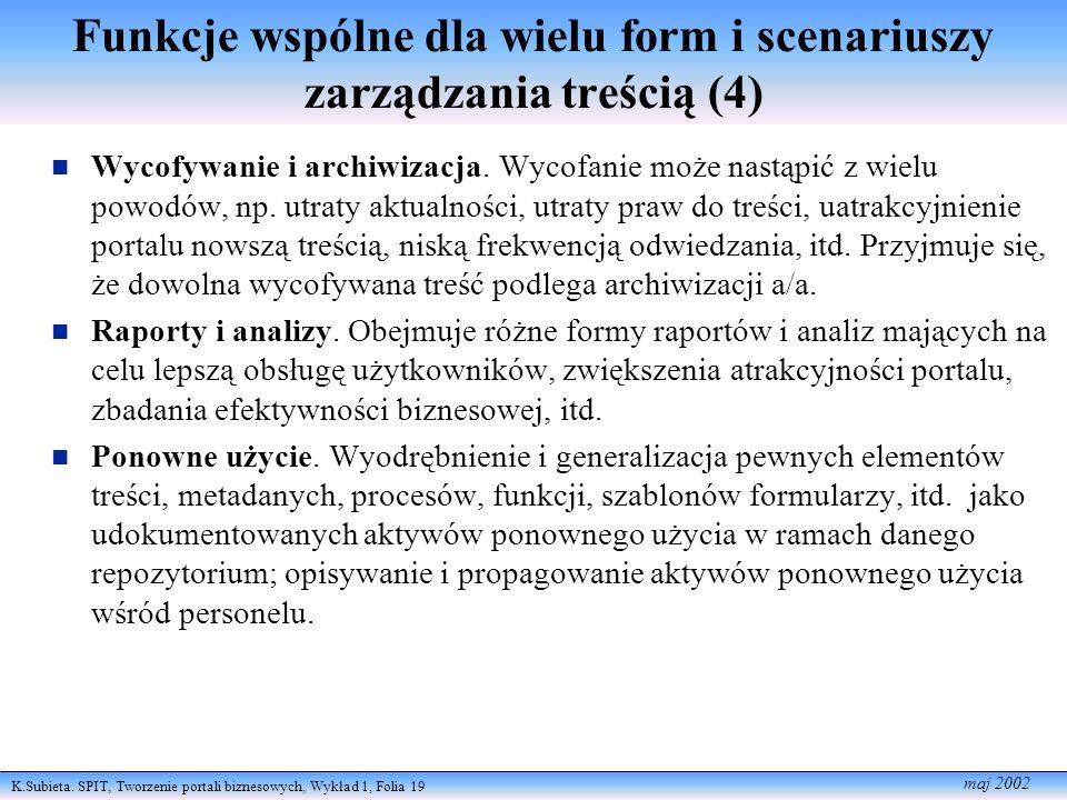 Funkcje wspólne dla wielu form i scenariuszy zarządzania treścią (4)