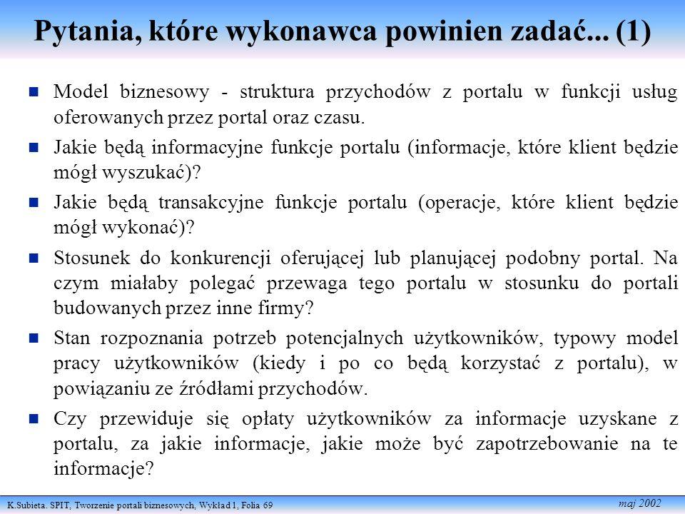 Pytania, które wykonawca powinien zadać... (1)