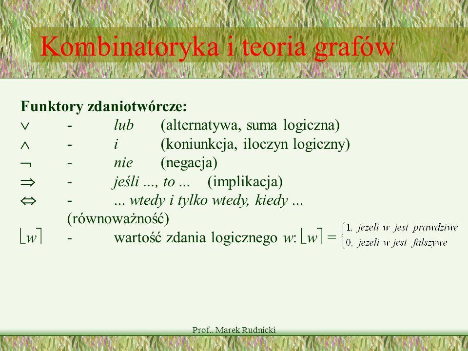 Kombinatoryka i teoria grafów