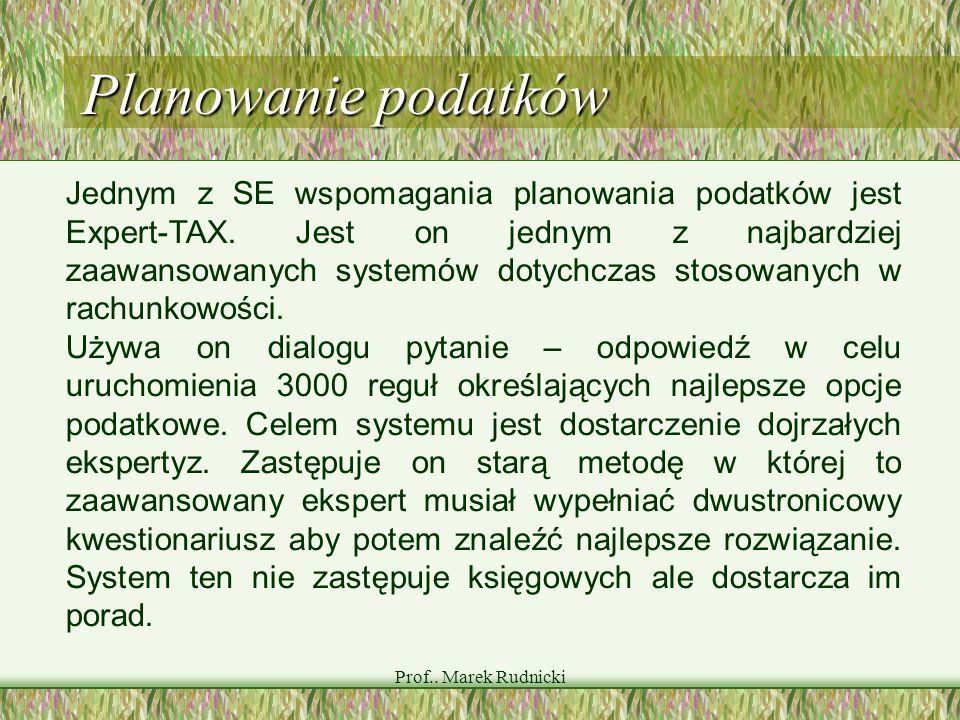 Planowanie podatków