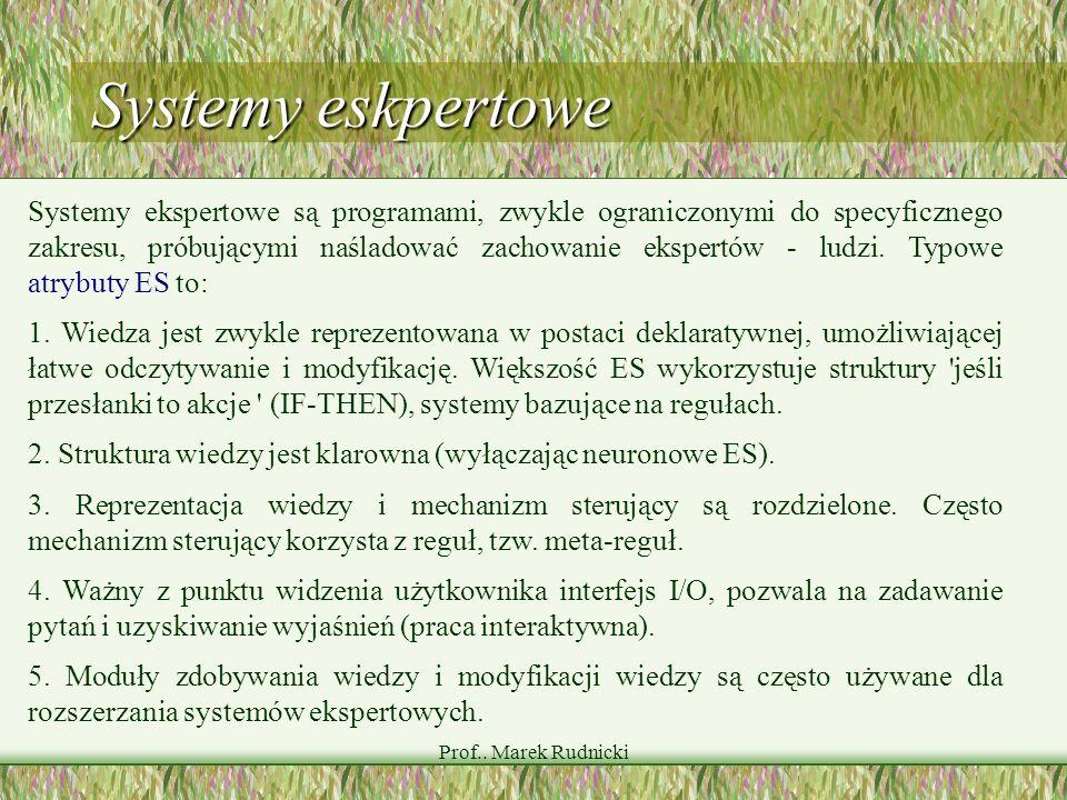 Systemy eskpertowe