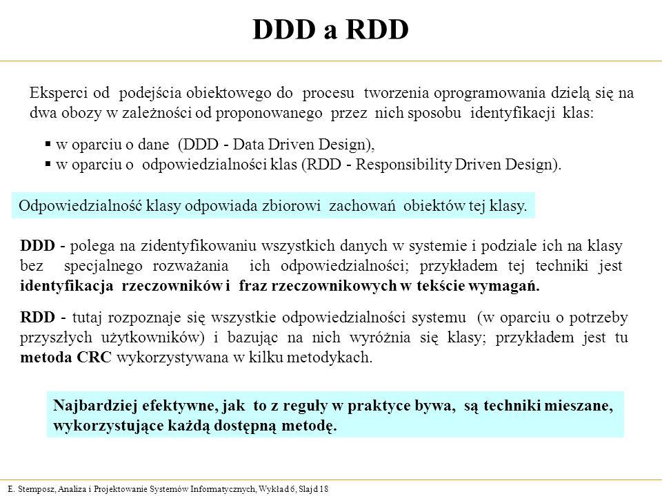 DDD a RDD