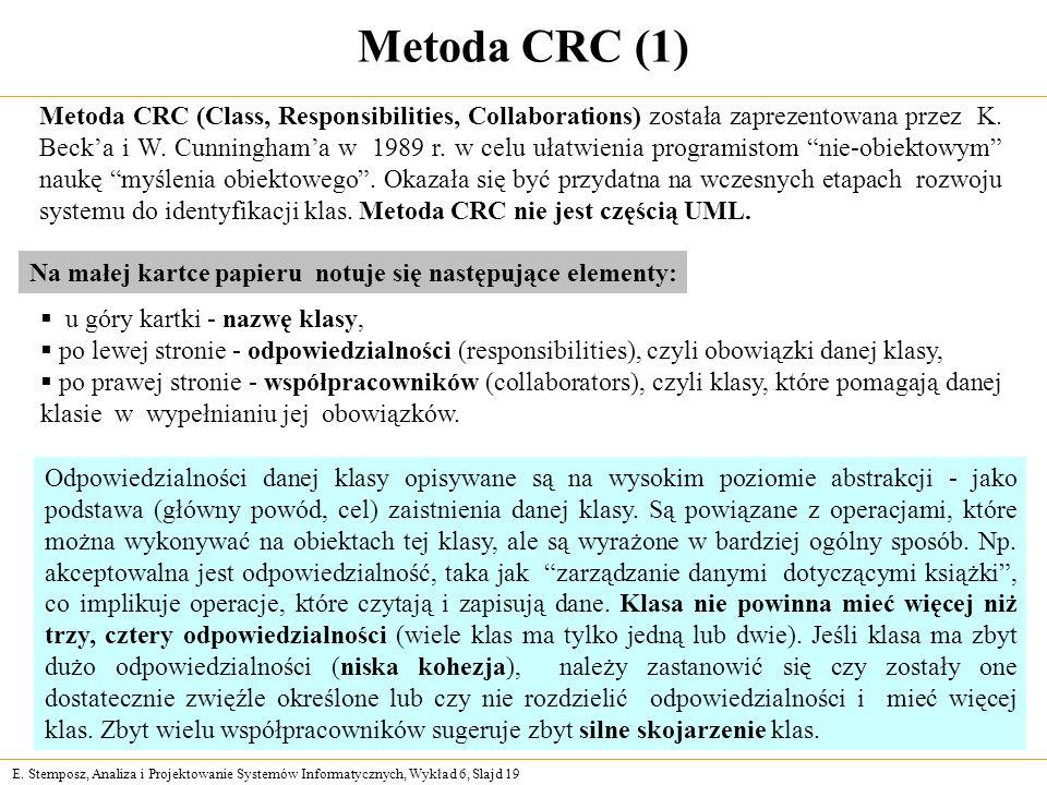 Metoda CRC (1)