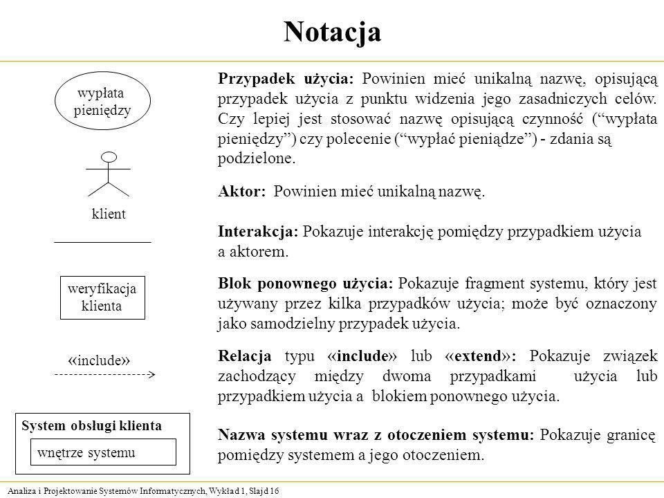 Notacja