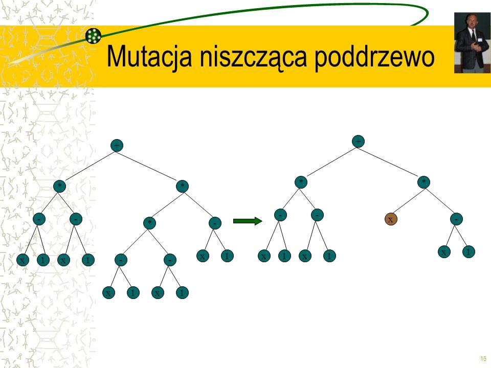 Mutacja niszcząca poddrzewo