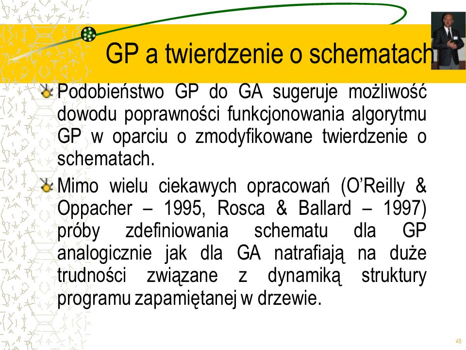 GP a twierdzenie o schematach