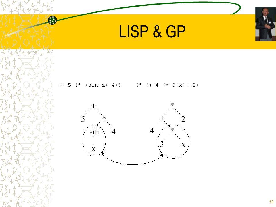 LISP & GP