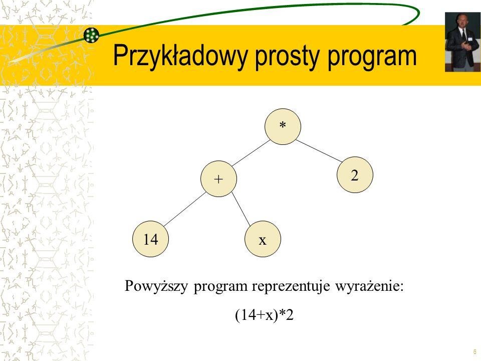 Przykładowy prosty program